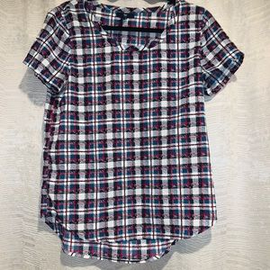 GAP Tops - Gap patterned blouse